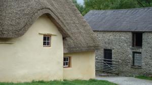 The back entrance into the farmyard