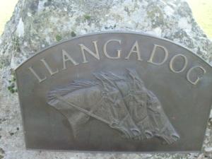 Sign on Llangadog Common