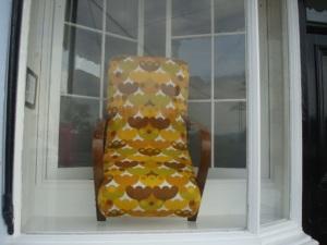 Window display in The Last Gallery