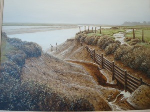 David's amazing painting..Kidwelly
