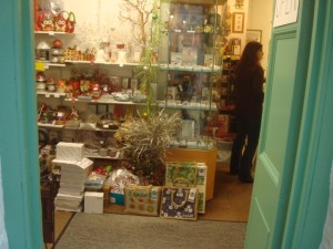 A small section  of the shop